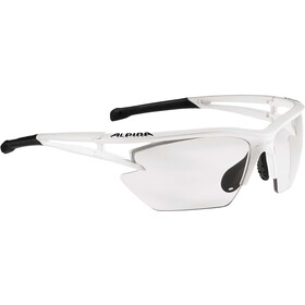 Alpina Eye-5 HR S VL+ Lunettes, matt white-black